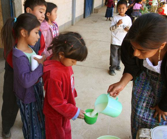 Working with the private sector in Guatemala to support school nutrition programs